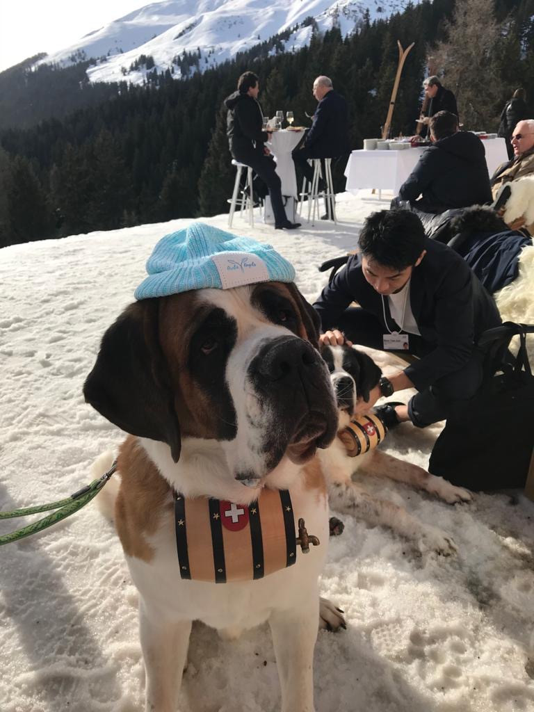 To St. Moritz, Switzerland...