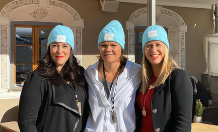Tanya Woods, a Leader in Digital Technology and Edith Adelwereld, Founder of Women in Sustainable Finance, with Multipreneur and our Marketing Advisor Karina Storinggaard