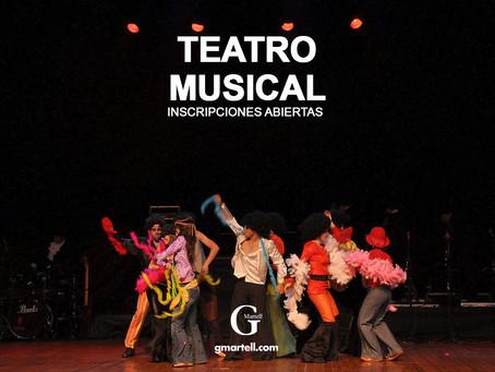 TEATRO MUSICAL   INSCRIPCIONES ABIERTAS