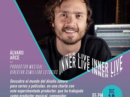 Instagram Live con Álvaro Arce