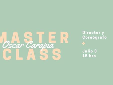 Masterclass Oscar Carapia
