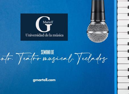 Semana de Canto, Teatro Musical y Teclado en G Martell