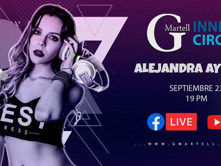 Alejandra Ayerbe en Inner Circle GMartell