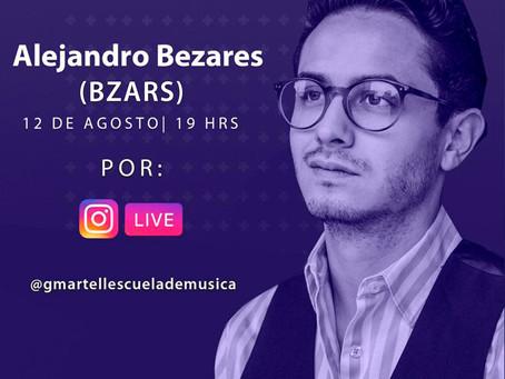 Próximo Instagram Live con Alejandro Bezares (DJ BZARS)