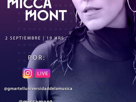 Instagram Live con Micca Mont