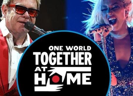 Así fue el 'One World: Together At Home', el evento que recaudó 128 mdd