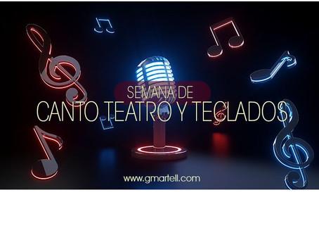 Semana de Canto, Teatro y Teclado 2019