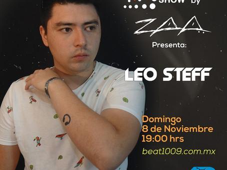 Nuestro Alumno Leo Steff estará con Zaa en Beat 100.9 FM