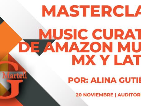 Masterclass | Music Curator de Amazon Music MX y LATAM