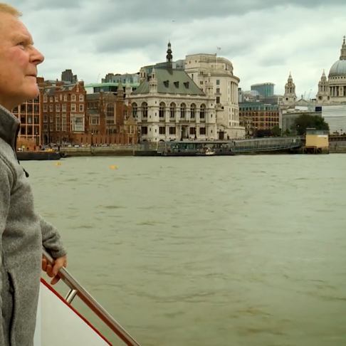 TEP PRESIDENT CHRIS BAINES ON THE LIVING THAMES