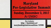 Maryland Pre-Legislative Summit