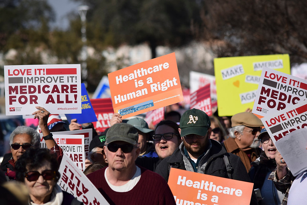 Rally to protect Medicare/Medicaid, Bakersfield 1/27/17