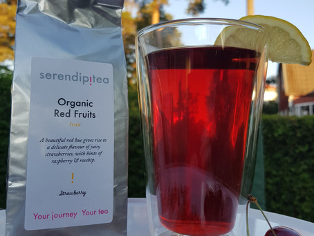 Summer's here - it's time for fruit tea!