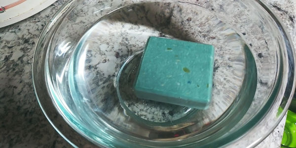 floating soap
