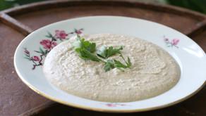 ממרח בטעם חומוס מעדשים אדומות ואגוזים טבעוני וללא גלוטן
