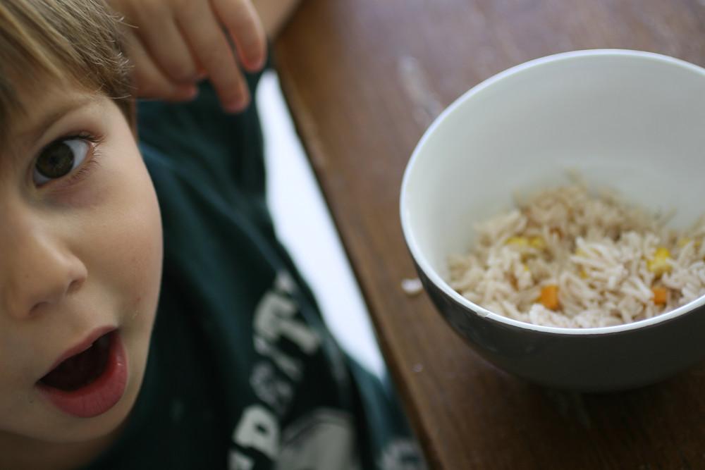 אורז בניחוח חלב קוקוס ותבלינים