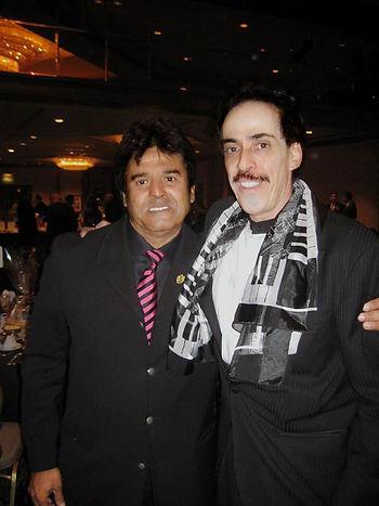 Carlos Rico and Eric Estrada