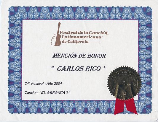 El Arrancao Award