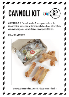 cannoli kit
