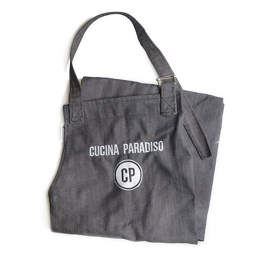 Delantal Cucina Paradiso Denim