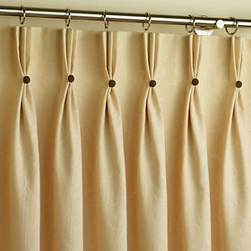 Pinch Pleat curtains - Ab Fab Curtains Yorkshire