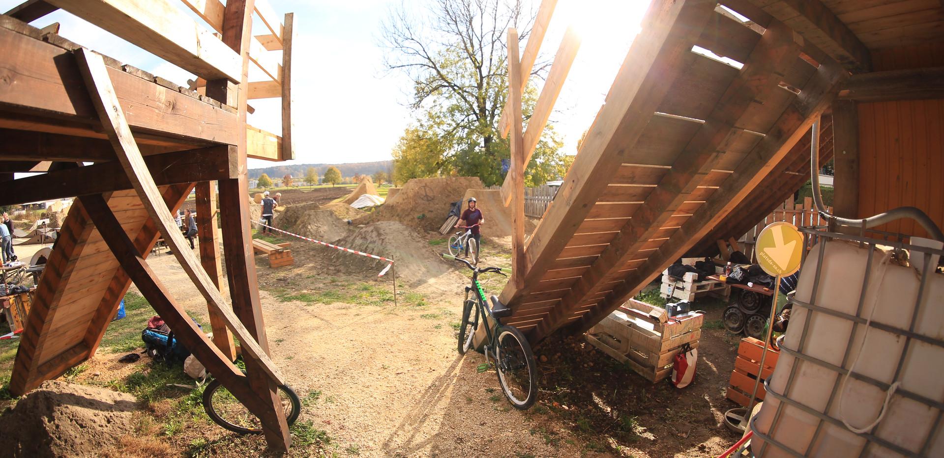 Bikepark Solothurn Eingang