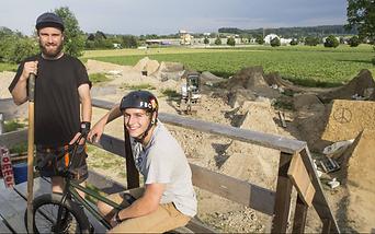 Bikepark Solothurn, Lukas Siegrist, Marc Henzi