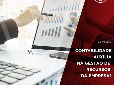 Como a contabilidade auxilia na gestão de recursos da empresa?