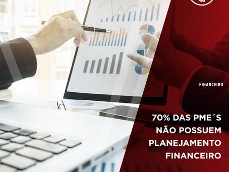 Mais de 70% das PME's dizem não ter planejamento financeiro previsto para crise