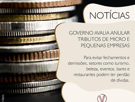 Governo avalia anular tributos de micro e pequenas empresas