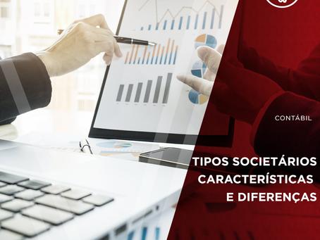 Quais são os tipos societários: Características e Diferenças
