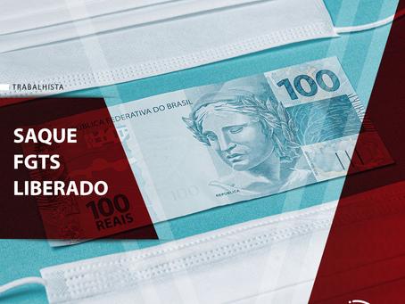 Governo libera saque do FGTS de R$ 1045,00