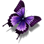 Erotic butterfly image