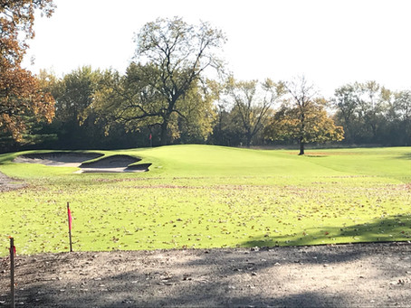 Cog Hill Forward Tee Project Completed Fall 2019.