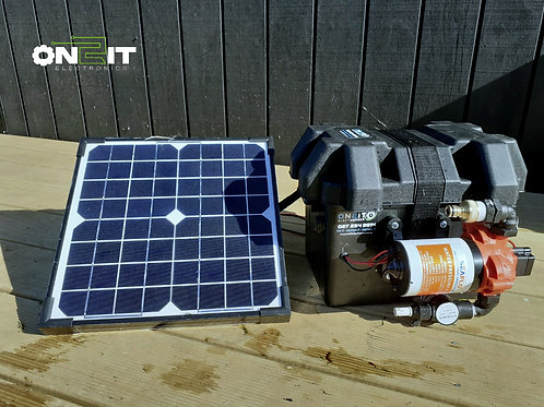 Solar Charged Portable Water Pump