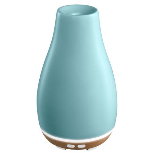 Ceramic Blossom Diffuser In Duck Egg Blue