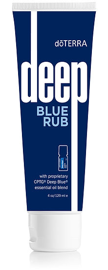Ice Blue (Deep Blue) Athletic Rub 118mL