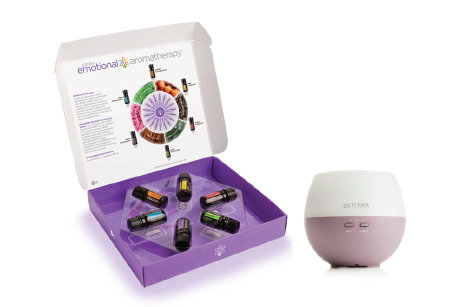 Emotional AromaTherapy Enrolment Kit with Petal Diffuser