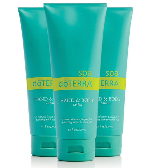 Hand & Body Lotion 3-pack