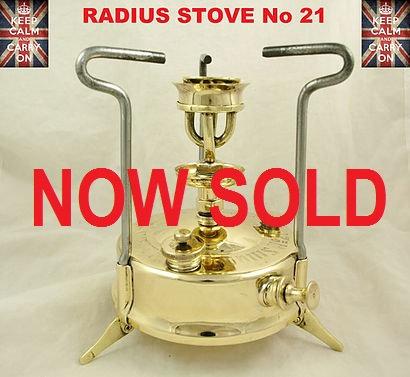 RADIUS STOVE No21