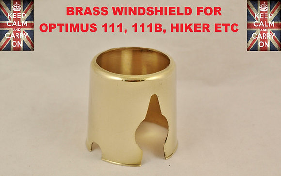 OPTIMUS STOVE BRASS WINDSHIELD FOR 111,111B,HIKER