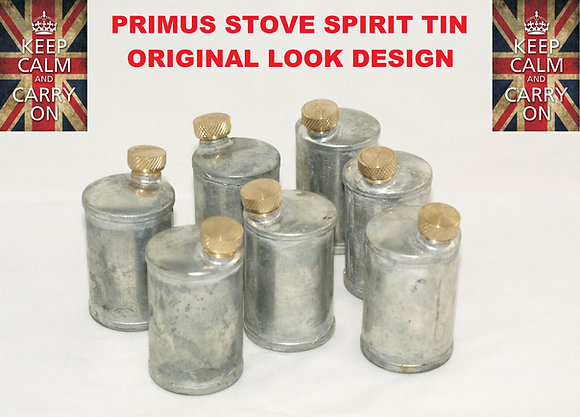 PRIMUS STOVE SPIRIT TIN OPTIMUS STOVE METHS TIN