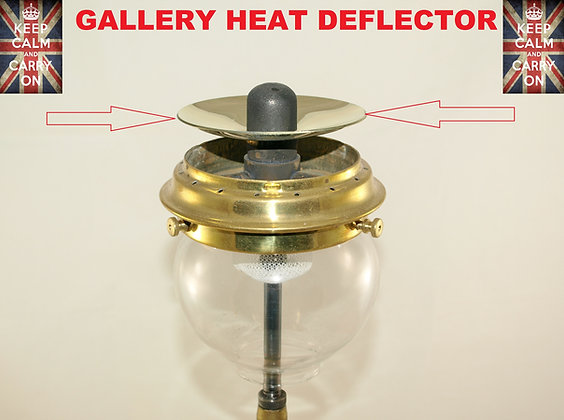 TILLEY LAMP HEAT DEFLECTOR