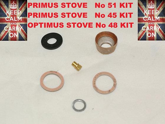 PRIMUS STOVE No51,45, AND OPTIMUS No48 KIT