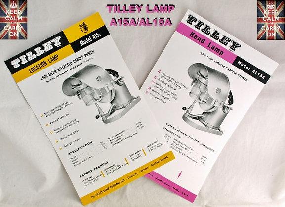 TILLEY LAMP AL15/AL15A