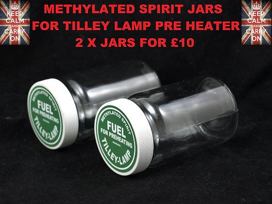 TILLEY LAMP PRE HEATER METHYLATED SPIRIT JAR