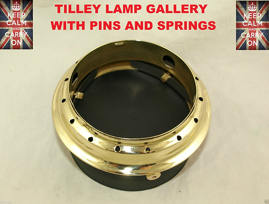 TILLEY LAMP GALLERY WITH PINS AND SPRINGS