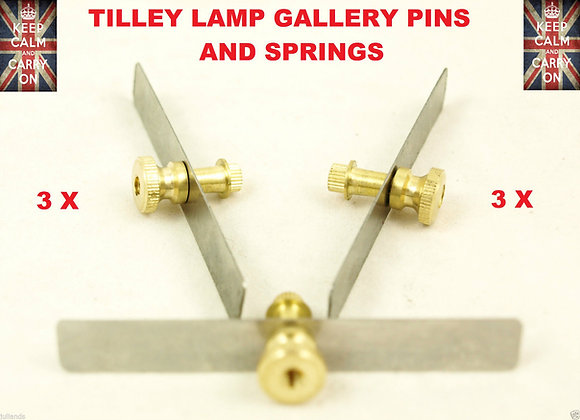 TILLEY LAMP GALLERY PINS + SPRINGS