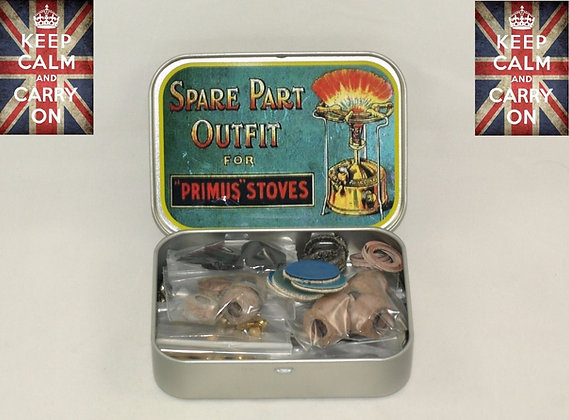 PRIMUS STOVE SPARES AND TIN