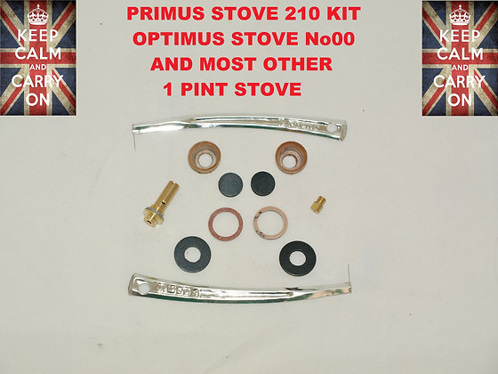 PRIMUS STOVE No 210 OPTIMUS No 00 REPAIR KIT